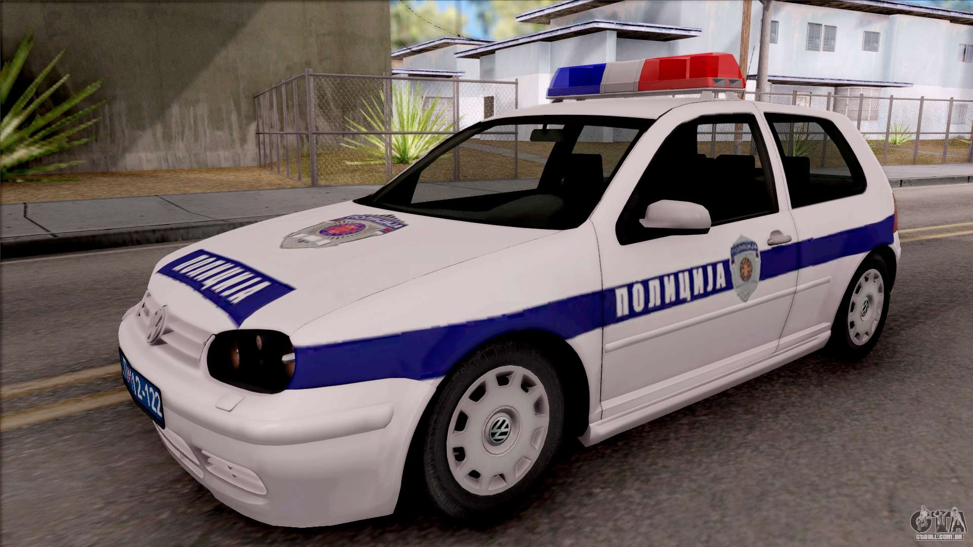 volkswagen golf 4 gti policija para gta san andreas. Black Bedroom Furniture Sets. Home Design Ideas