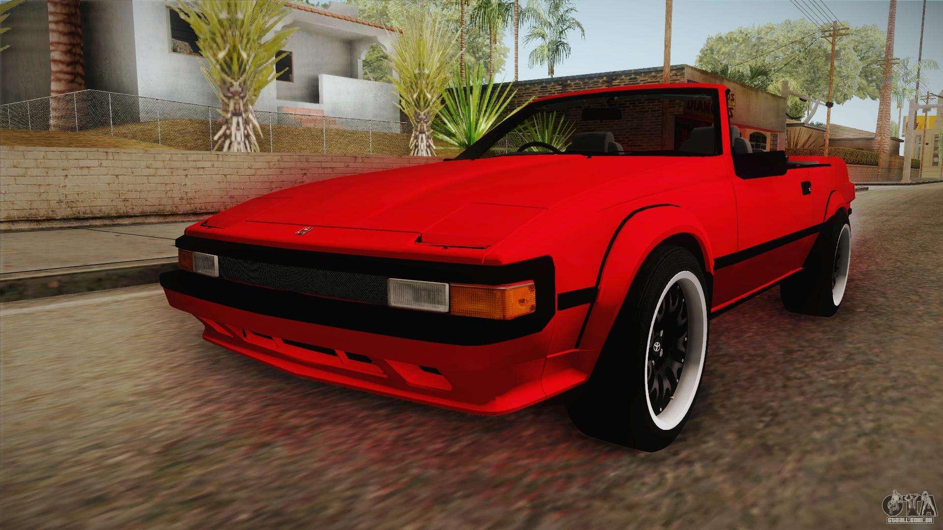 Toyota Supra Antigo >> Toyota Celica Supra Cabrio 1984 para GTA San Andreas