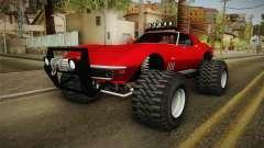 Chevrolet Corvette C2 Stingray Off Road para GTA San Andreas