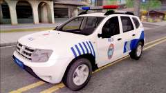 Renault Duster Turkish Police Patrol Car