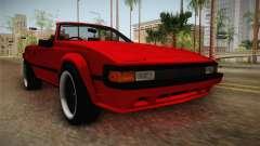 Toyota Celica Supra Cabrio 1984 para GTA San Andreas