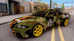 Nissan Skyline R32 Drift Falken Germany v2 para GTA San Andreas