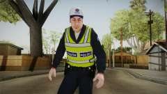 Turkish Traffice Police Officer-Long Sleeves para GTA San Andreas