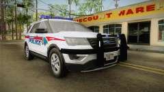 Ford Explorer 2016 YRP para GTA San Andreas