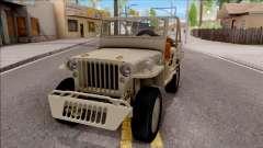 Jeep Willys MB 1945 para GTA San Andreas