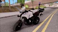 Honda CB500X Turkish Traffic Police Motorcycle