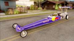 Dragster Red Bull para GTA San Andreas