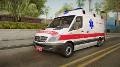 Mercedes-Benz Sprinter Iranian Ambulance para GTA San Andreas