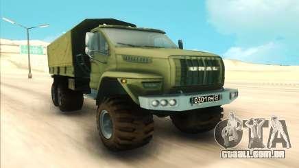 Ural Militares para GTA San Andreas