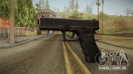 Glock 18 3 Dot Sight Ultraviolet Indigo para GTA San Andreas