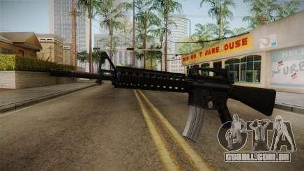 Battlefield 3 - M16 v2 para GTA San Andreas
