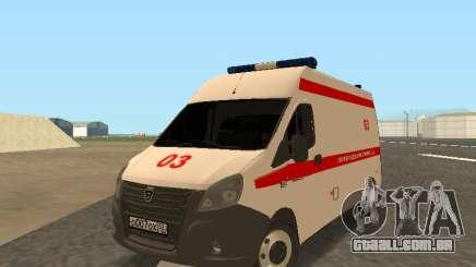 Gazela Ambulância para GTA San Andreas