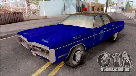Plymouth Fury 1972 Housing Authority Police para GTA San Andreas