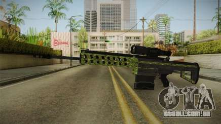 GTA 5 Gunrunning Sniper Rifle para GTA San Andreas