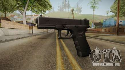 Glock 17 3 Dot Sight Pink Magenta para GTA San Andreas