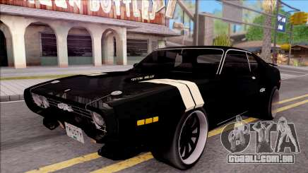 Plymouth GTX Roadrunner 1972 Fate Of Furious 8 para GTA San Andreas