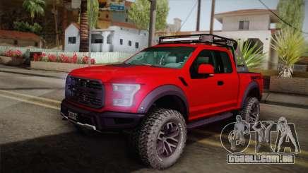 Ford F-150 Raptor 2017 para GTA San Andreas