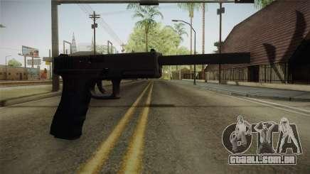 Glock 21 3 Dot Sight with Long Barrel para GTA San Andreas