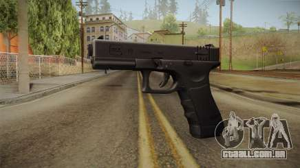 Glock 18 Blank Sight para GTA San Andreas