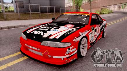 Nissan Silvia S14 Drift Nishikino Maki Itasha para GTA San Andreas