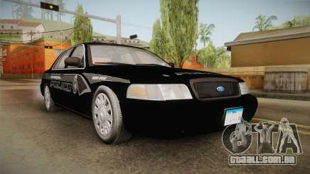 Ford Crown Victoria PI Stealth YRP para GTA San Andreas