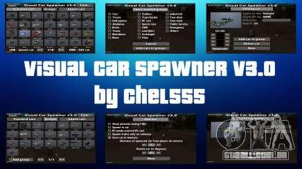 Visual Car Spawner v3.0 para GTA San Andreas