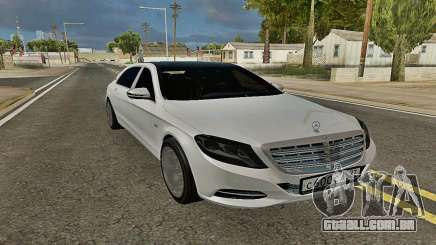 Mercedes-Maybach S600 X222 Exclusive para GTA San Andreas