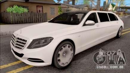 Mercedes-Maybach S600 Pullman para GTA San Andreas