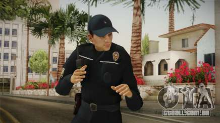 Turkish Police Officer Long Sleeves v2 para GTA San Andreas
