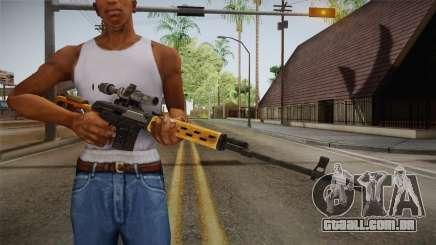 SVD Dragunov para GTA San Andreas