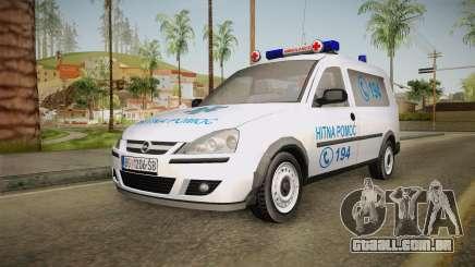 Opel Combo Ambulance para GTA San Andreas