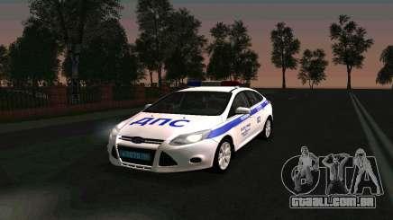 Ford Focus Police para GTA San Andreas