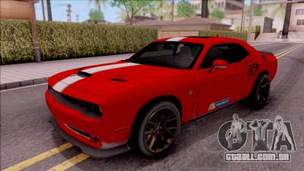 Dodge Challenger Hellcat Consept para GTA San Andreas
