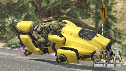 Sci-Fi Hover Bike 1.1b para GTA 5