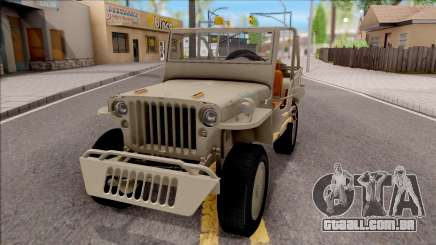Jeep Willys MB 1945 para GTA San Andreas