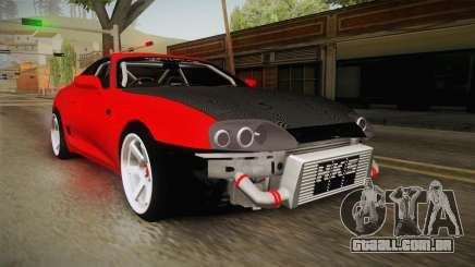 Toyota Supra Drift Monster Energy para GTA San Andreas