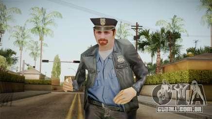 Driver PL Police Officer v4 para GTA San Andreas