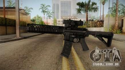 MK18 from MOH: Warfighter para GTA San Andreas