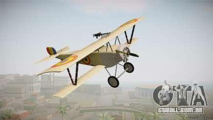 Nieuport 11 Bebe - Nr.1249 Romania para GTA San Andreas