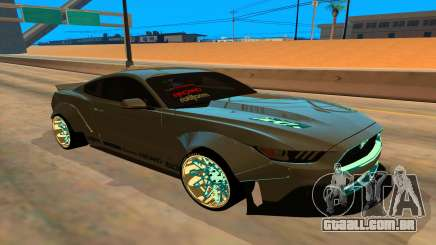 Ford Mustang Azure Inferno para GTA San Andreas