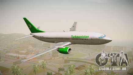 Boeing 737-300 Turkmenistan Airlines para GTA San Andreas