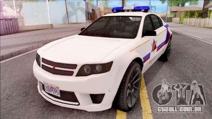 Cheval Fugitive Hometown PD 2012 para GTA San Andreas
