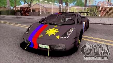 Lamborghini Gallardo Philippines v2 para GTA San Andreas