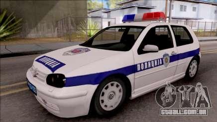 Volkswagen Golf 4 GTI Policija para GTA San Andreas