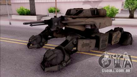 Mobile Art-Installation COD: Advance Warfare para GTA San Andreas