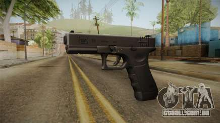 Glock 18 3 Dot Sight Pink Magenta para GTA San Andreas