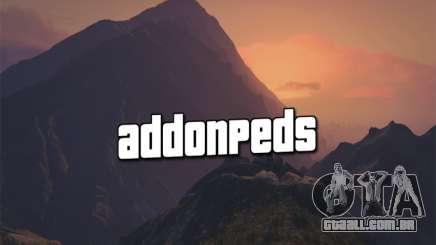 AddonPeds 3.0 para GTA 5