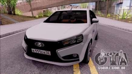 Lada Vesta 2016 para GTA San Andreas