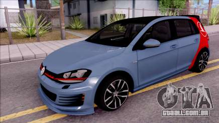 Volkswagen Golf 7 GTI Turkish Airlines para GTA San Andreas