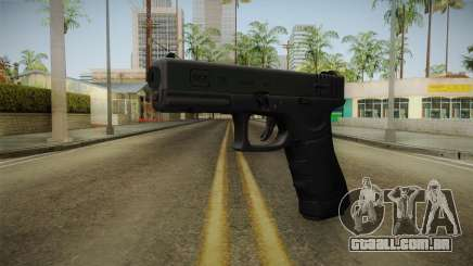 Glock 18 3 Dot Sight Green para GTA San Andreas